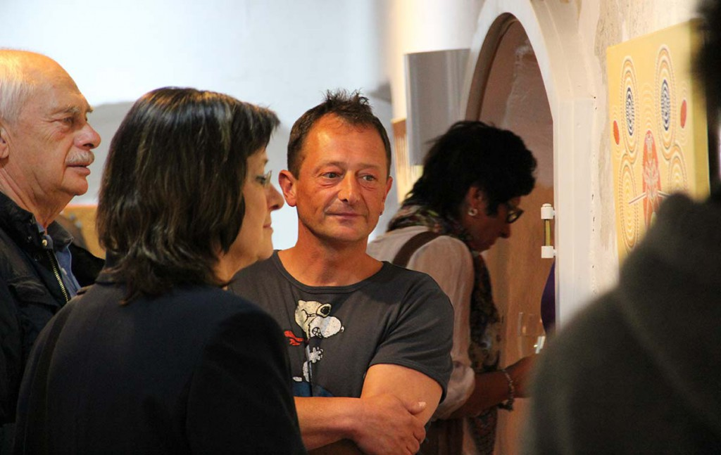 Vernissage in der Galerie kunstreich in Kempten im Juni 2012